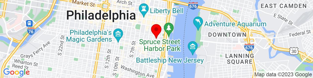 Google Map of 39.9437434, -75.1458686