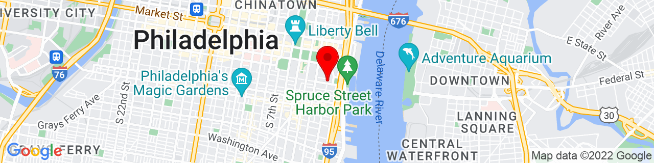 Google Map of 39.9447299, -75.1448936