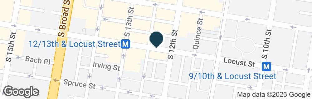 Google Map of1227 LOCUST ST
