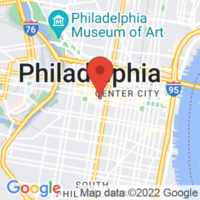 Map showing Elixr Coffee Roasters — Center City