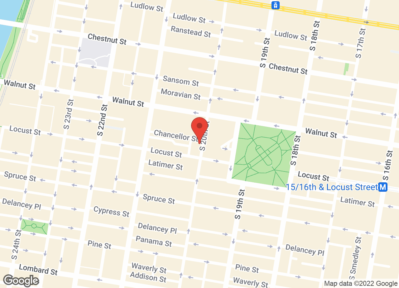 Google Map of VCA Cat Hospital of Philadelphia
