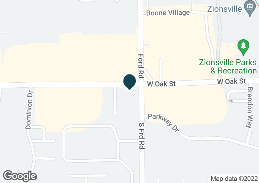 Google Map of200 S FORD RD