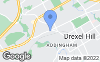 Map of Drexel Hill, PA
