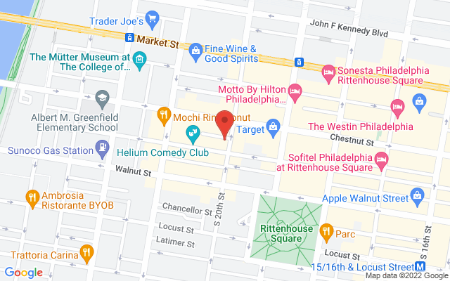 static image of 110 South 20th Street, Philadelphia, Pennsylvania
