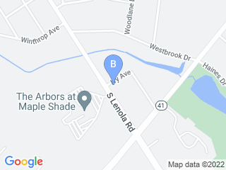 Map of Wagtime Dog Boarding options in Moorestown | Boarding