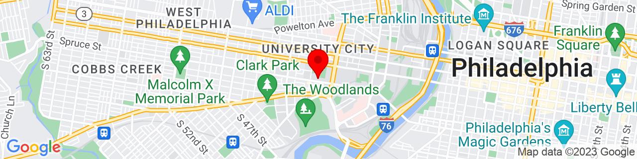 Google Map of 39.9518924, -75.2016658