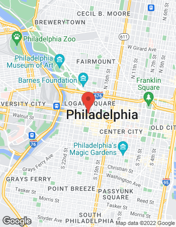 Map of Casimir Seweryn - TIAA Financial Consultant at 1835 Market Street, Philadelphia, PA 19103