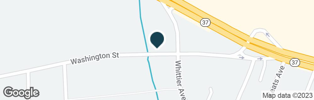 Google Map of1158 WASHINGTON ST