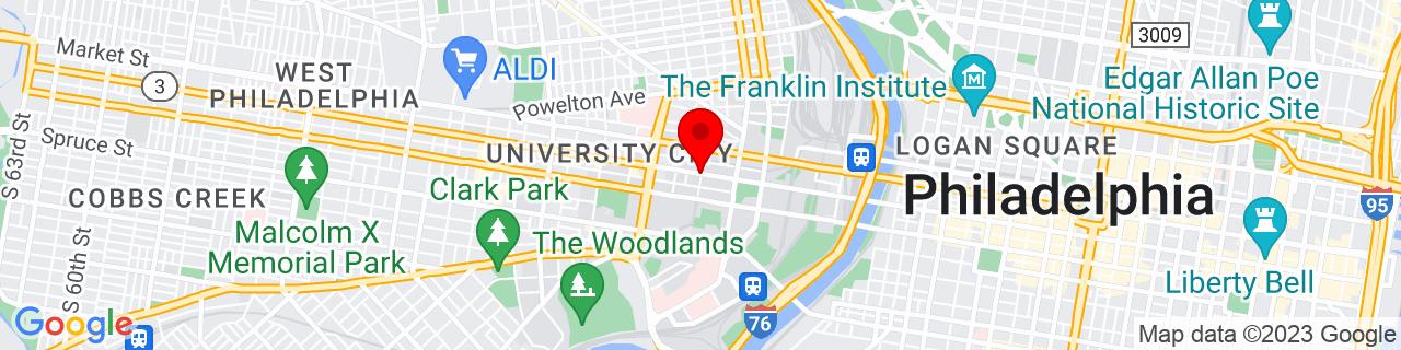 Google Map of 39.9546645, -75.1945096
