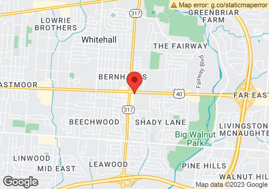 Google Map of 4617 E MAIN ST