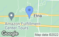 Map of Etna, OH