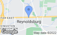 Map of Reynoldsburg, OH