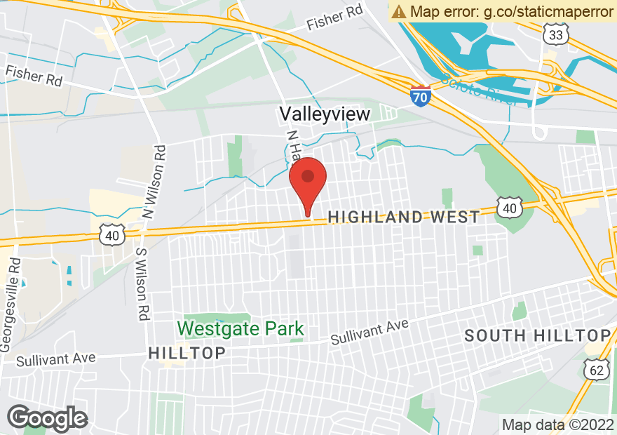 Google Map of 2770 W BROAD ST