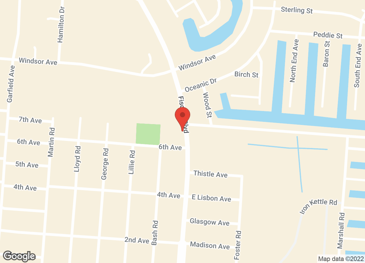 Google Map of Bayview Animal Hospital