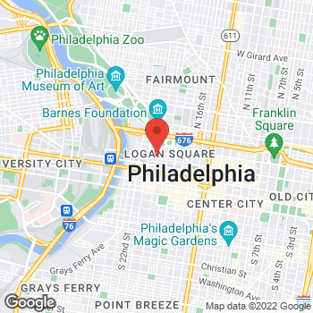 Map of BAYADA Assistive Care - State Programs at 100 N. 20th Street, Philadelphia, PA 19103