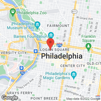 Map of BAYADA Assistive Care - State Programs at 100 North 20th Street, Philadelphia, PA 19103
