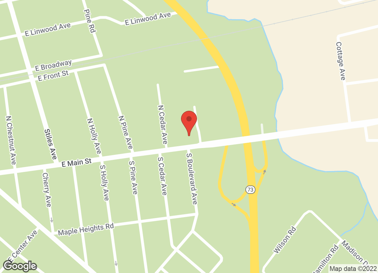 Google Map of VCA Maple Shade Animal Hospital