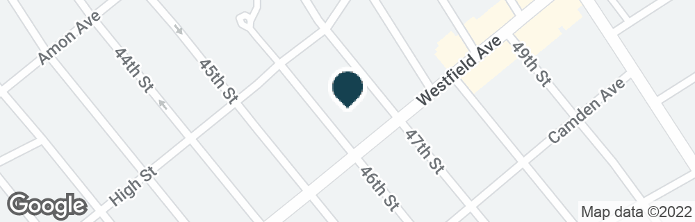 Google Map of4601 WESTFIELD AVE