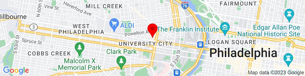 Google Map of 39.9575548, -75.1991781