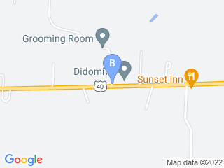 Map of Groom Room Dog Boarding options in Hebron | Boarding