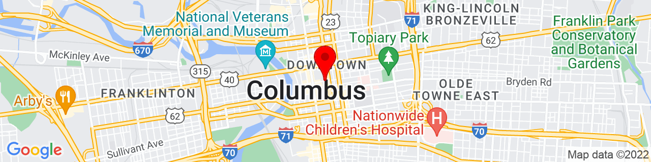 Google Map of 39.9603865, -82.998184