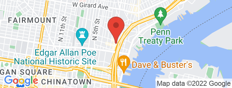 Map of Palm Tree Market - Northern Liberties