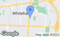 Map of Whitehall, OH