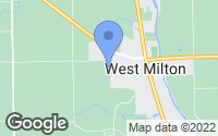 Map of West Milton, OH