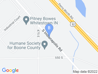 Map of Zionsville Country Kennel Dog Boarding options in Whitestown | Boarding