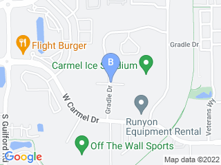 Map of Camp Bow Wow Dog Boarding Carmel Dog Boarding options in Carmel | Boarding