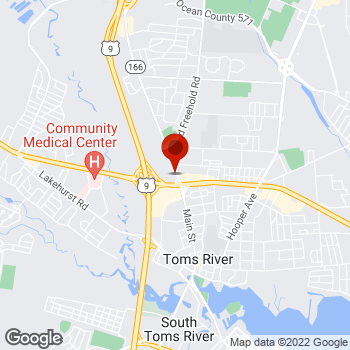 Map of Staples® Print & Marketing Services at 2 Route 37 W, Toms River, NJ 08753