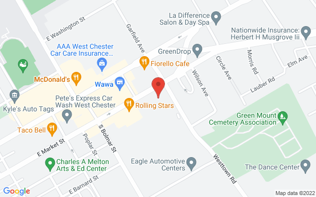static image of 790 East Market Street, Suite 370, West Chester, Pennsylvania