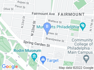 Map of Fairmount Pet Service Dog Boarding options in Philadelphia | Boarding