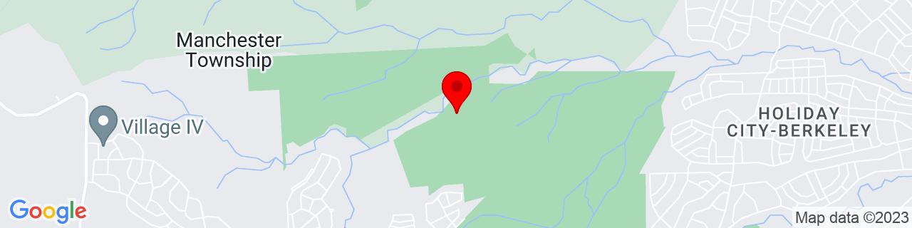 Google Map of 39.9652553, -74.3118212