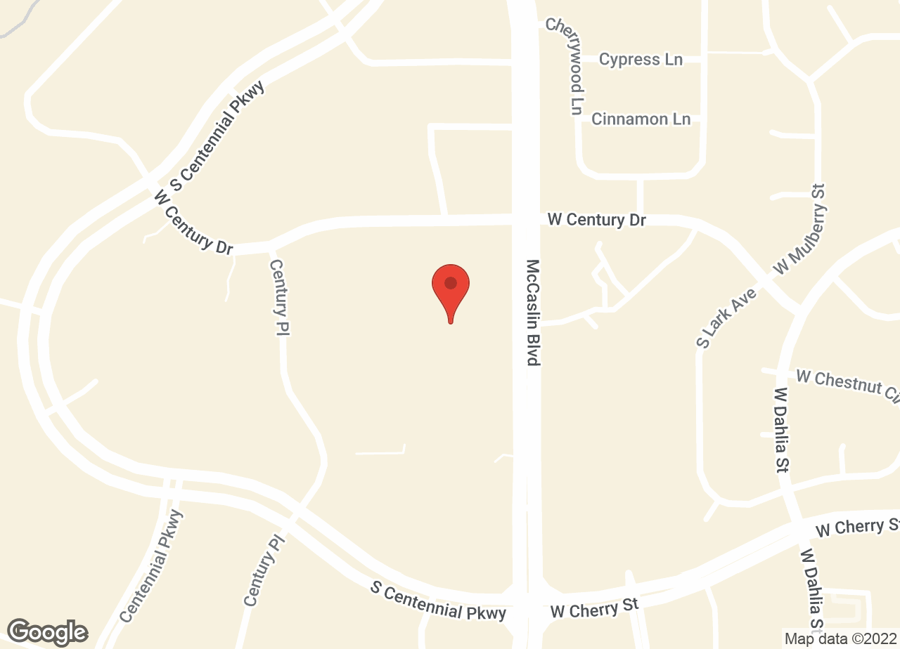 Google Map of VCA Centennial Valley Animal Hospital