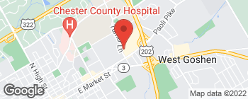 Mapa de 121 Turner Ln en West Chester