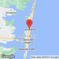 Lavallette Beach Badge Office on the map