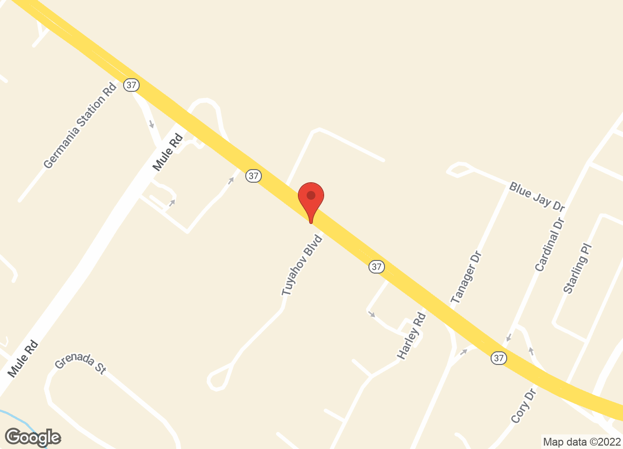 Google Map of Toms River Animal Hospital