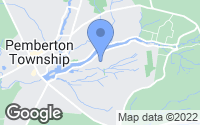 Map of Browns Mills, NJ