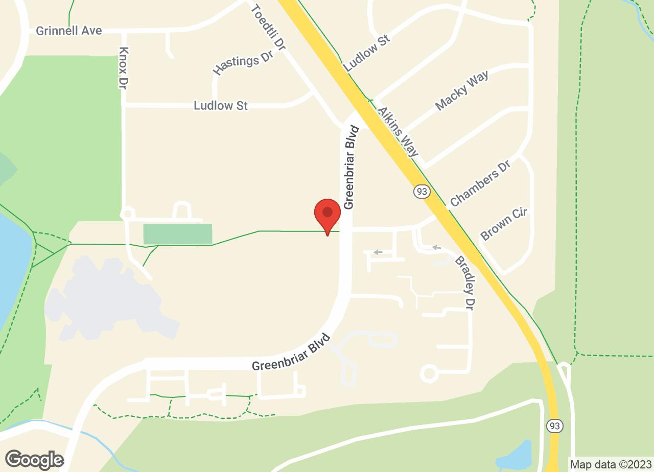 Google Map of VCA Broadway Animal Hospital and Pet Center