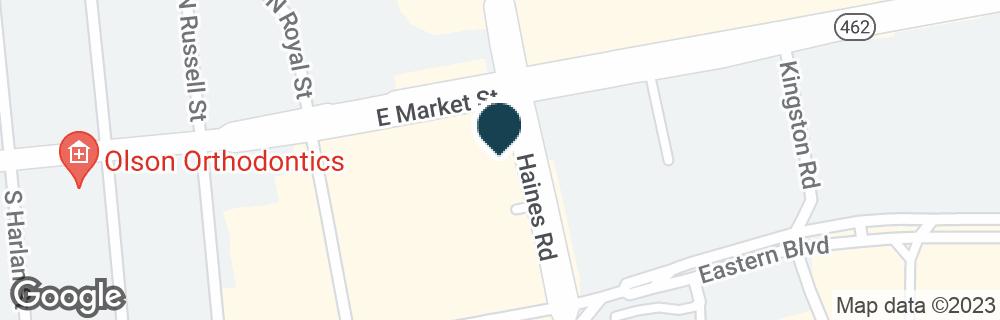 Google Map of2350 E MARKET ST