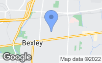 Map of Bexley, OH