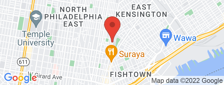 Map of Tandoor Fishtown