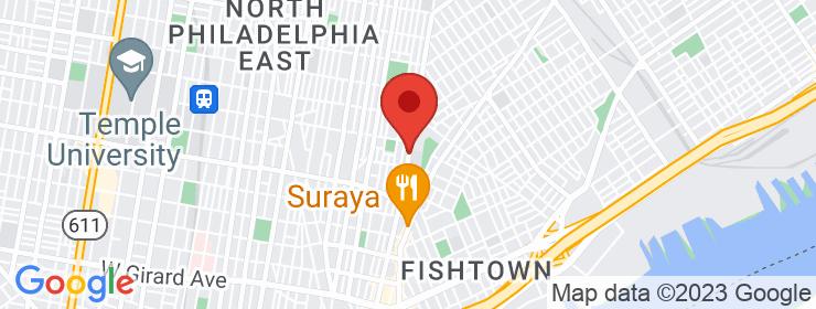 Map of Tandoor Fishtown