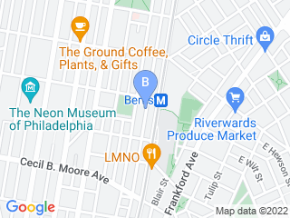 Map of Otto  His Humans Pet Services Dog Boarding options in Philadelphia | Boarding