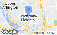 Map of Grandview Heights, OH