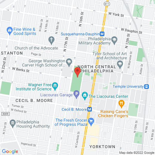 Google Map of Charles Library
