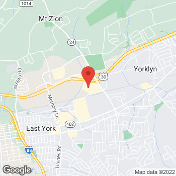 Map of Bed Bath & Beyond at 2845 Concord Road, York, PA 17402