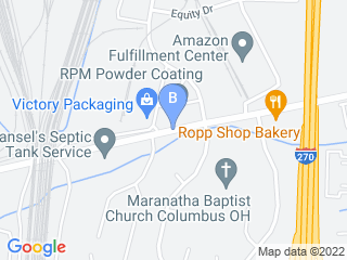 Map of Cheryls Pet Sitting Service Dog Boarding options in Columbus | Boarding