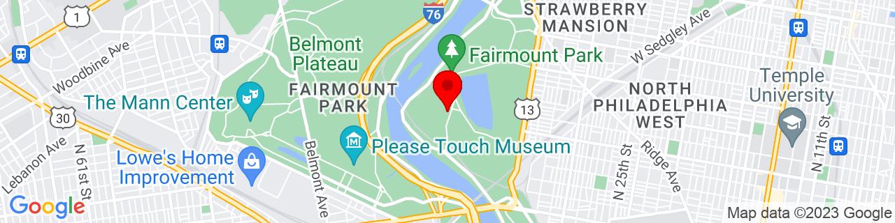 Google Map of 39.984452, -75.19767